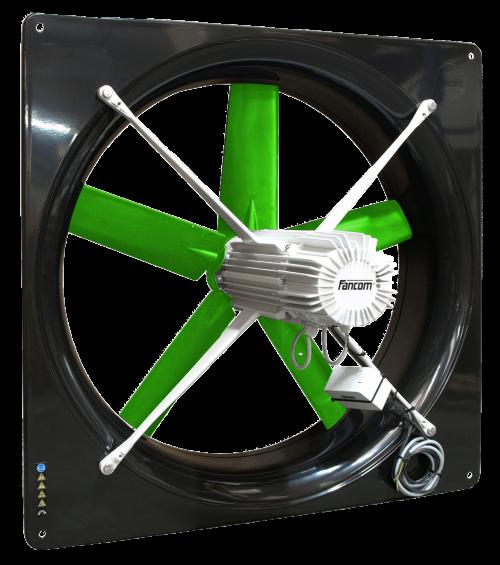 ventiladores de bajo consumo granjas